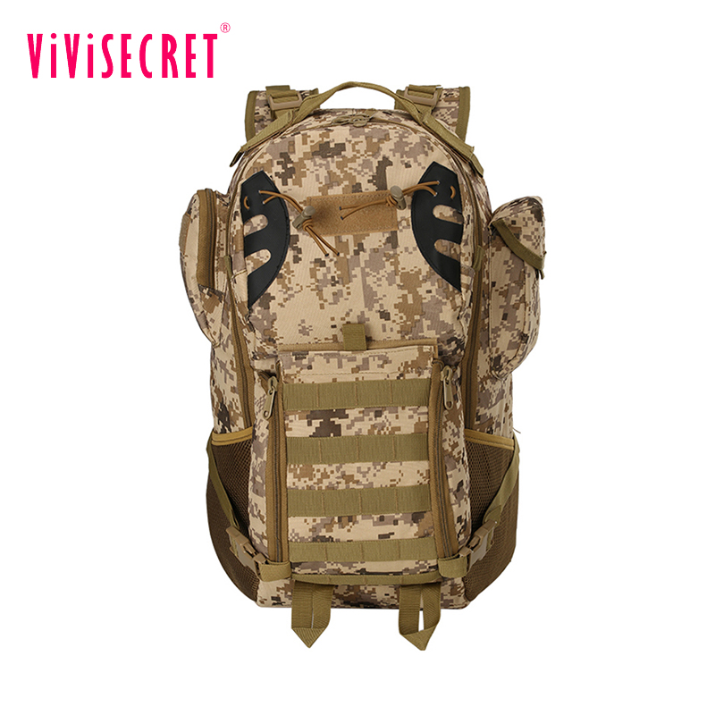 Guangzhou manufacture outdoor high quality camping back pack military tactical camouflage army backpack wholesale