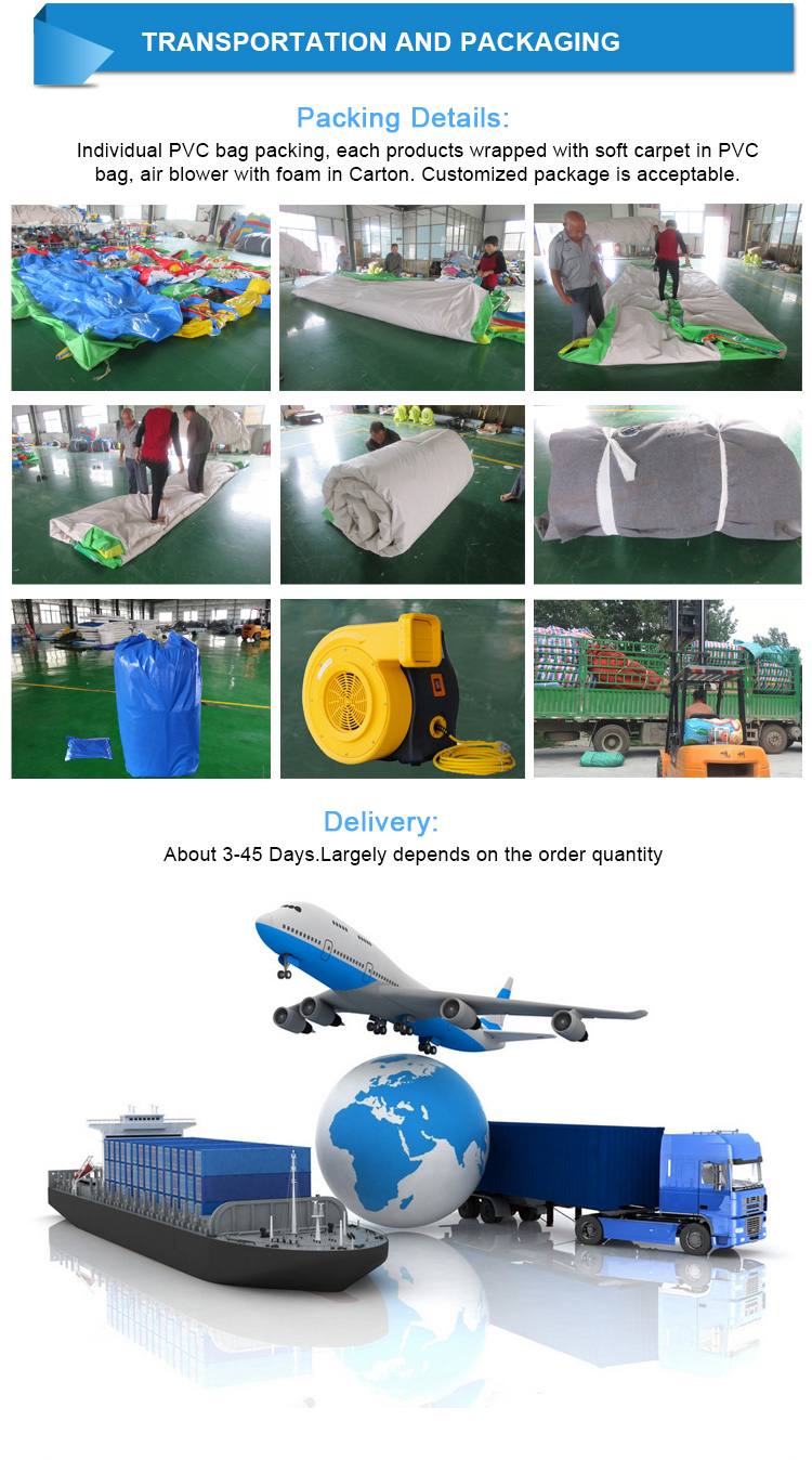 Factory Price High Quality Durable Indoor Outdoor for Children Adult Inflatable Playground
