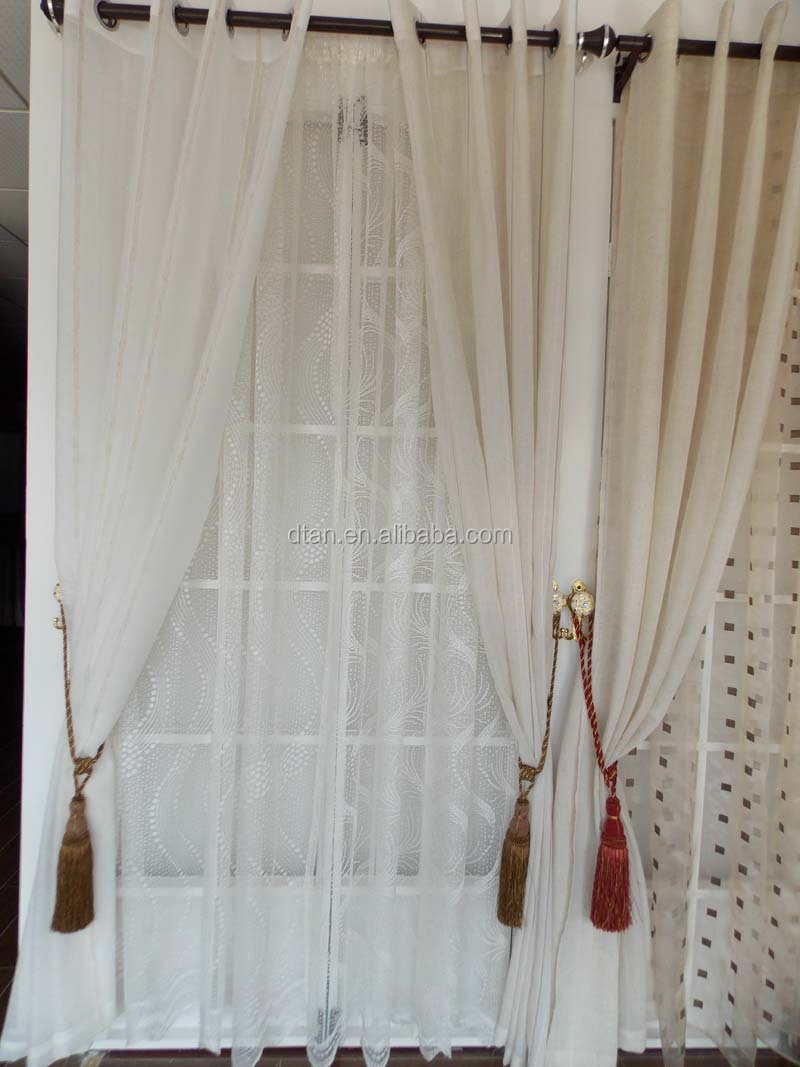 Turkey Design Cheap Nice Lace Curtain