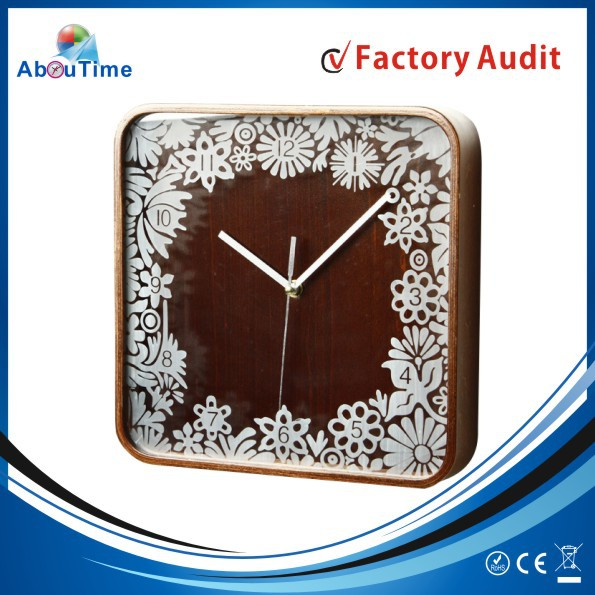 Wholesale high quality Handicraft decorative wood clock !