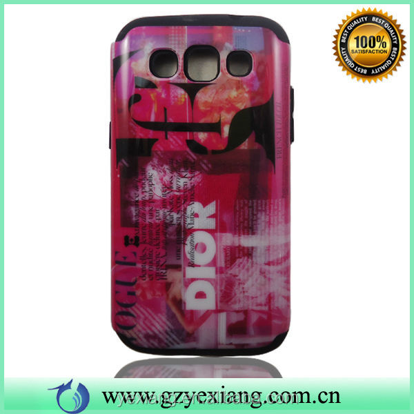 High Quality Combo Cover Case For Samsung Galaxy Vin I8552