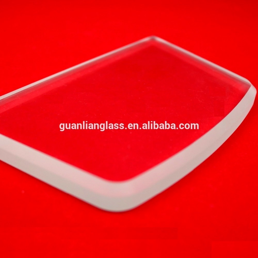 OEM for Small normal tempered/non-tempered float glass ,lampshade glass