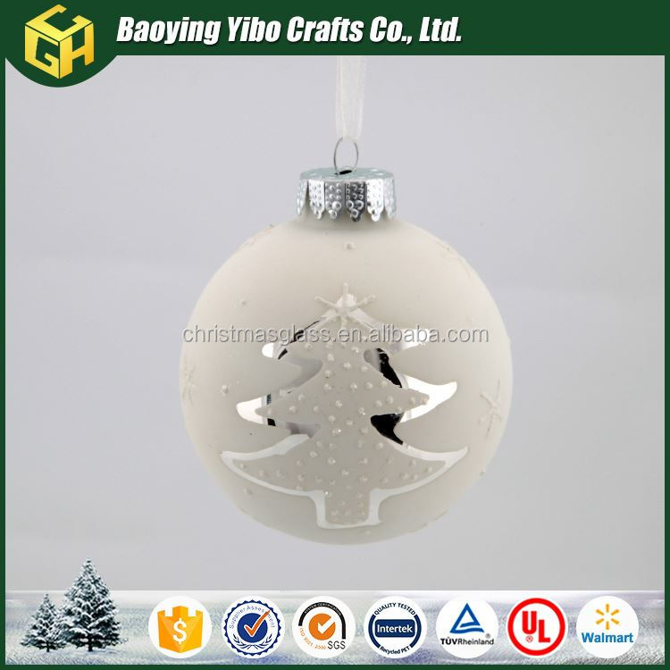 Luxuriant in design New product Promotion big christmas hanging balls