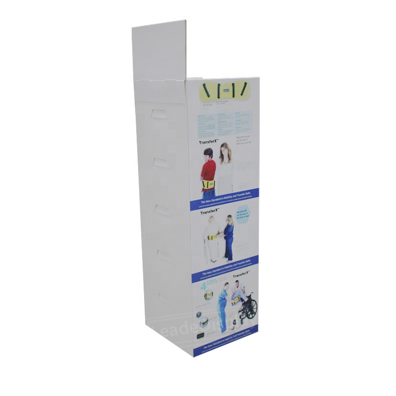 Factory price portable and durable display stands for food promotion merchandise for store