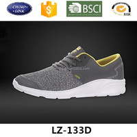 Hot selling brand male leisure sports shoe sneaker low cut flat casual footwear shoes for men