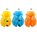 Boys Girls Drifting Adjustable Children Kids Baby Inflatable Life Vest Swiwmsuit Child Swimming Safety Vest 3