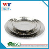 Stainless steel salad plate,fruit tray,hammer surface polish