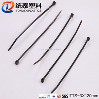 Nylon hook tape andself adhesive tape hook and loop and loop cable ties tool thin cable tie TTS-3*120