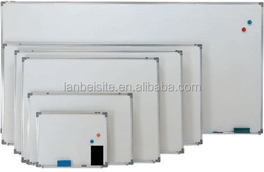 Low Price No Folded Magnetic Whiteboard Standard Sizes