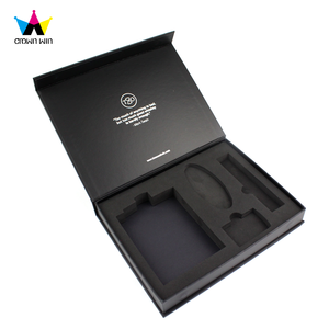 China Supplier Craft Premium Wholesale Magnetic Paper Gift Box/Black Bridesmaid Paper Gift Box With Foam Insert