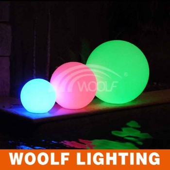 Large Outdoor Ip68 Water Led Sphere Lights