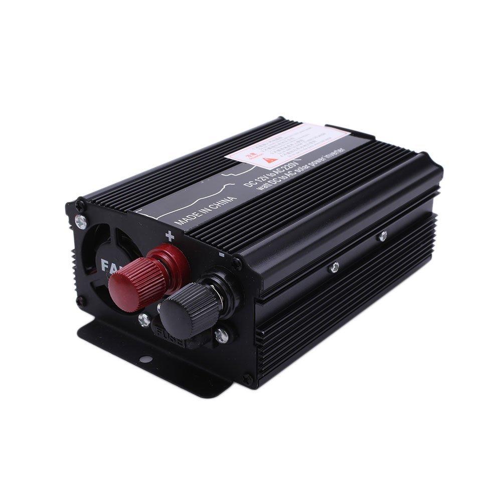 Car Power Inverter,DC 12V to AC 220V/110V Inverter Output Stable DC 12V to AC 220V 3000W Power Inverter Converter_Black