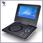 Cheap 7 inch Portable EVD DVD player Low price 7.4v battery