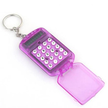 <span class=keywords><strong>Cadeau</strong></span> <span class=keywords><strong>Promotionnel</strong></span> drôle Portable Poche Mini Clé Calculatrice