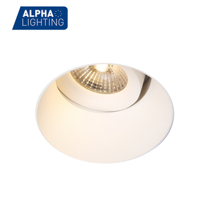Trimless Adjustable 7w/10w Led Lamp Gypsum Plaster Light Deep Recessed Led Downlight
