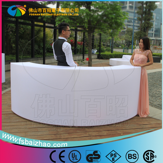 big promotion bar table and chair, lighting furniture,LED bar counter