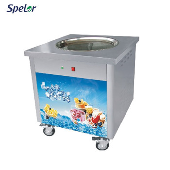 Compressor R404A Refrigerant Frying Ice Making Machine