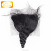 Free parting wholesale brazilian virgin human hair loose wave 5x5 lace closure