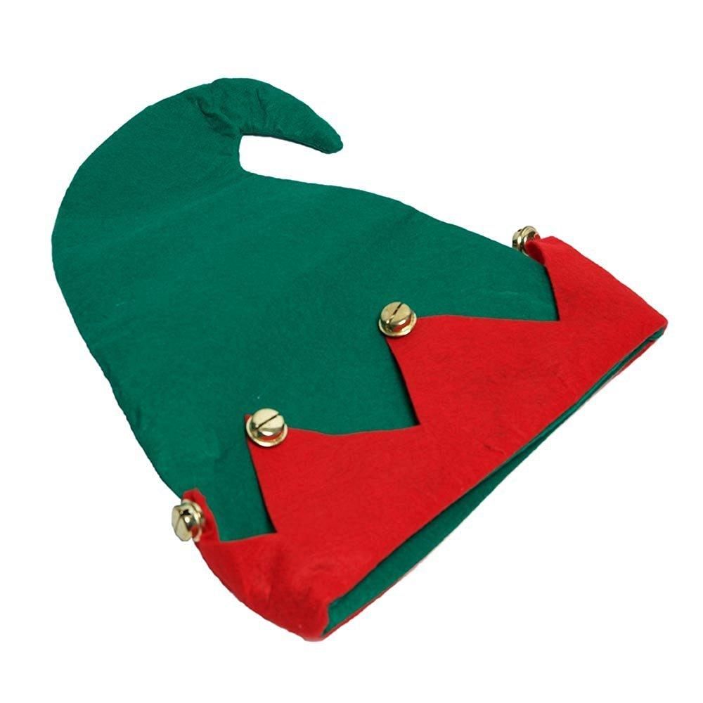 ec67926462c3d Get Quotations · Santa s Finest Felt Elf Hat