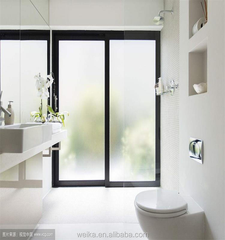 Australian standard new design bathroom pvc windows and doors