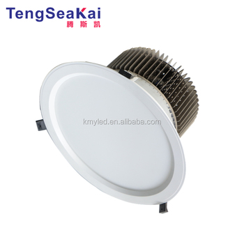 high power exterior downlighting 80w 100w recessed embedded 10 inch