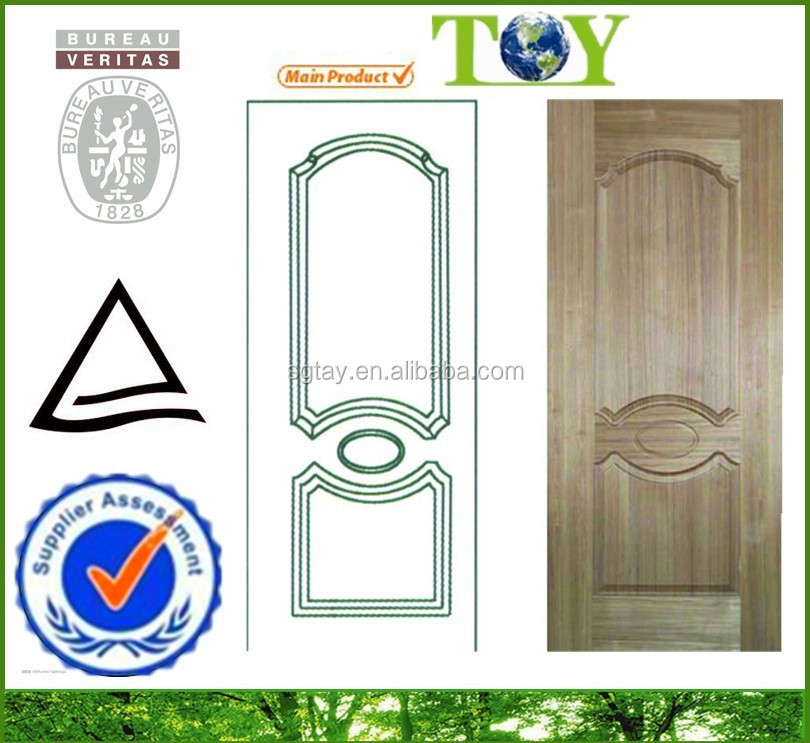 Iran Quality Ash Veneer Door Skin - Tayeb Wood
