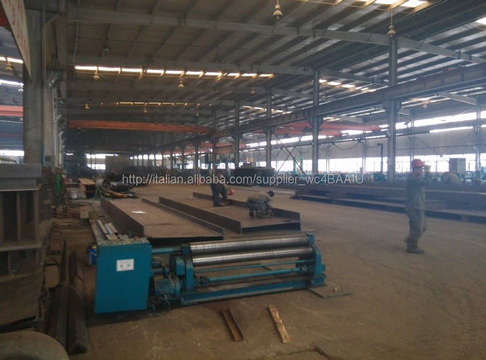 Prefabricated steel structure building and warehouse and workshop for construction