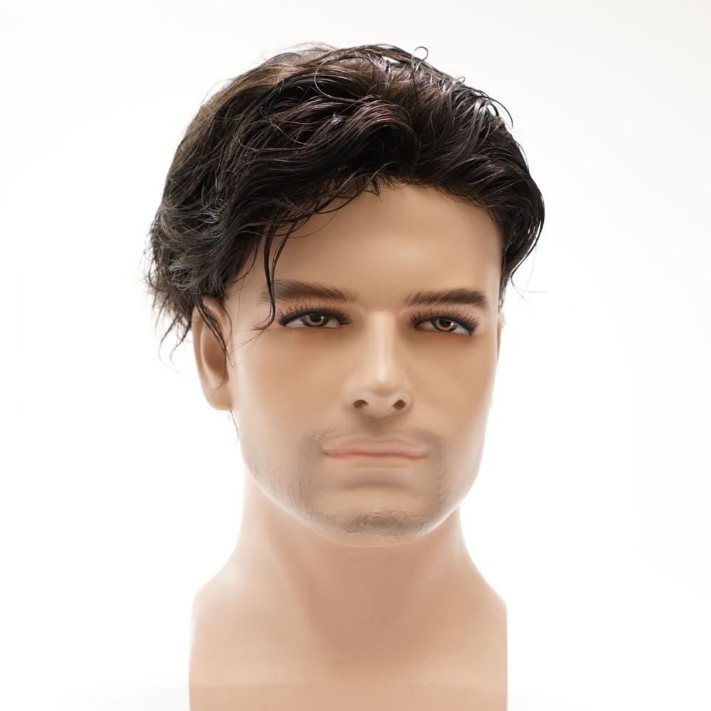 Мужские парики из натуральных волос фото