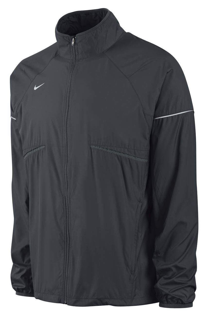 9c4ce33e6bbb Get Quotations · Nike Men s Zoom Running Windbreaker Jacket-Anthracite Reflective  silver-XL