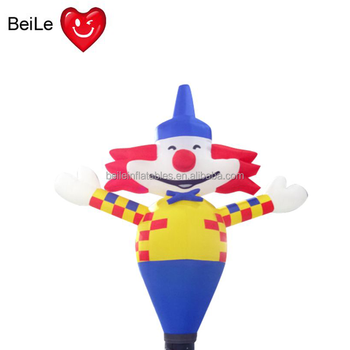 Customized PVC 1.5M Height inflatable  clown air  dancer