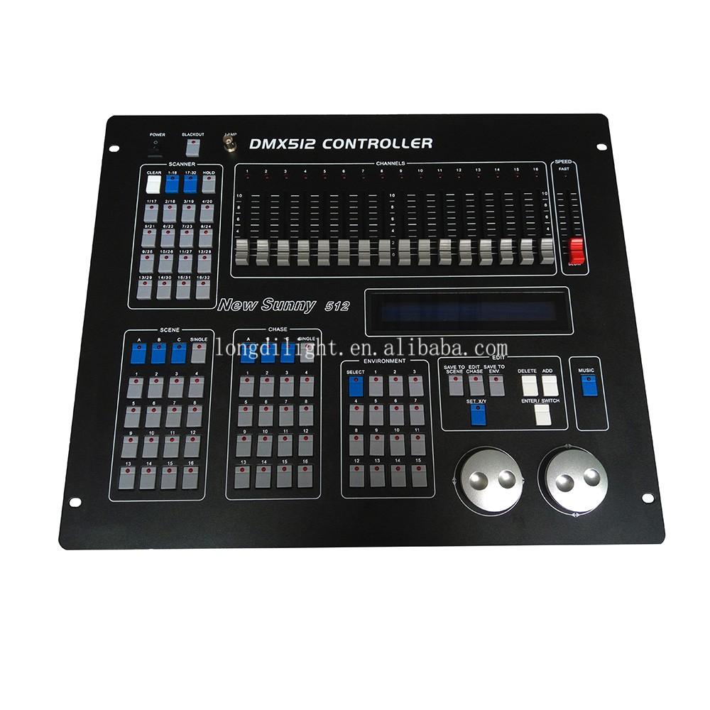2017 Hot S Light Console Dj Mixer Dmx Sunny 512 Controller Mini Lighting