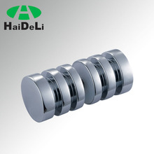 high quality stainless steel easy to install glass door knob, pull handle