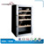 SC-93 compressor stainless steel glass door mini fridge