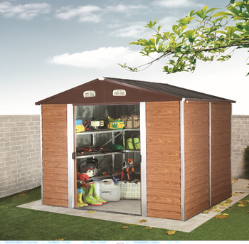 Extreme Snow Load Heavy Duty Metal Storage Sheds