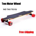 2 4G Remote Control Two Motor Wheels electric skateboard Longboard Skate Board