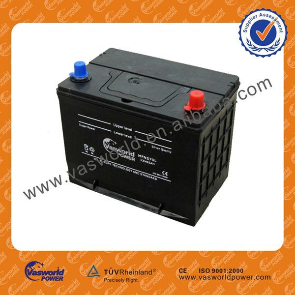 65ah 12v rechargeable d 39 acide de plomb mf batterie de voiture batterie 12v id de produit. Black Bedroom Furniture Sets. Home Design Ideas