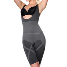 Wholesale New Fashion Natural Bamboo Charcoal Seamless Open Bust Slimming Body Shaper