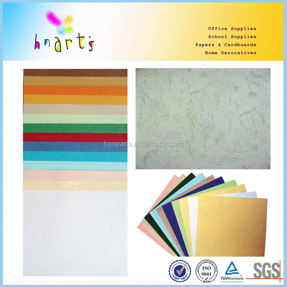 Heavy weight pastel paper book binding paper