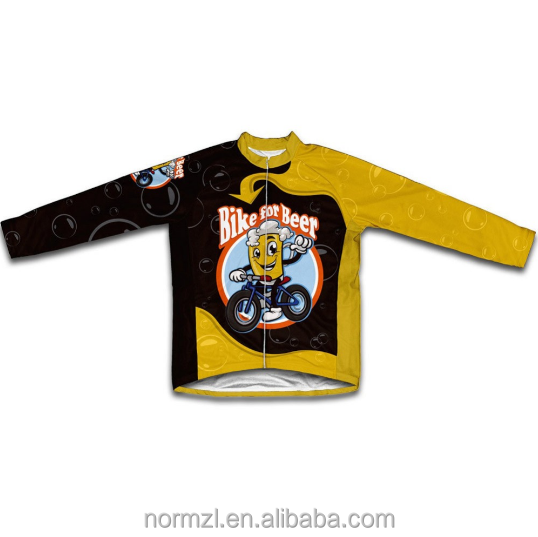 Children Cycling Jersey Clothing Bike Jersey boys Long Sleeve Clothing Bicycle Wear