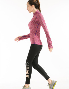 2ecf9cd004f Leisure sport athletic apparel manufacturers women running clothes jogging  suit women gym t shirt