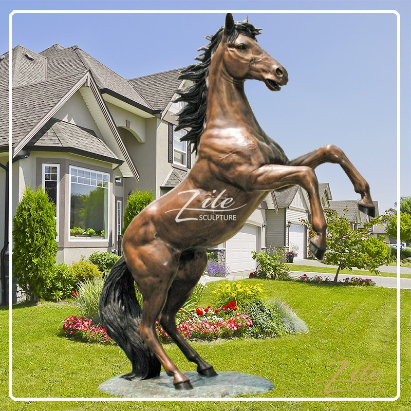 high quality outdoor life size bronze horse statues for sale buy outdoor life size horse. Black Bedroom Furniture Sets. Home Design Ideas