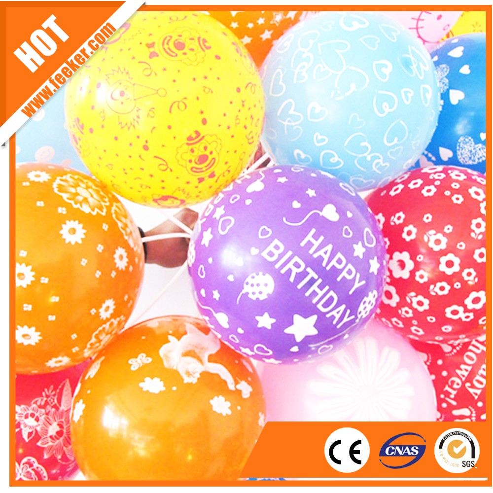 HAPPY BIRTHDAY baloon with logo from balloon factory China