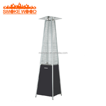 Outdoor Patio Pyramid Gas Flame Heater