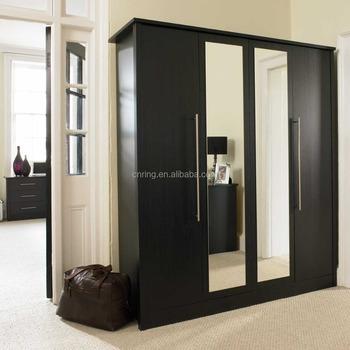 2015 Barato Sydney Construido En Color Negro Dormitorio Muebles ...
