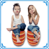 China direct factory small rattan sitting stool storage stool for kids
