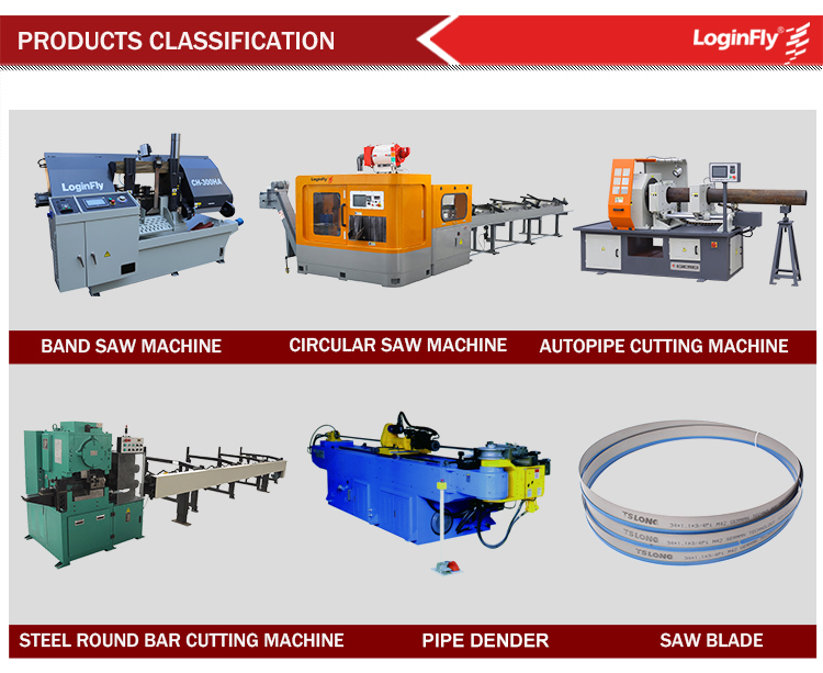 CE Quality Double Column CNC Automatic Metal Cutting Machine