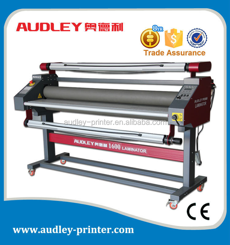 Audley ADL-1600C5+ pneumatic 63 inch 1600mm water based laminating machine