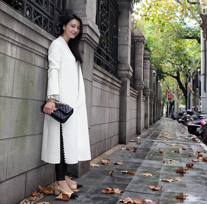 abrigo mujer blanco abrigo largo blanco abrigo mujer largo abrigo largo  largo mujer blanco 6nzHR aaad92ab11bb