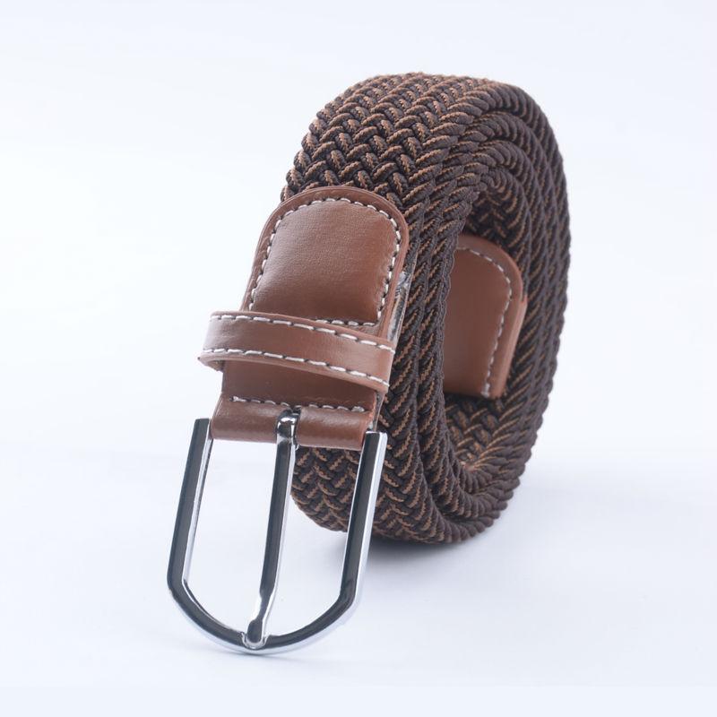 Cinturones para hombres Moda Casual Hebilla Cinturón de