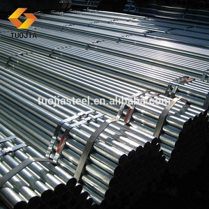 ALI supplier hollow section round shape mild din 2394 8 inch iron dn 200 galvanised steel pipe
